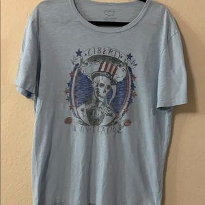 Lucky brand tee Liberty or death ❤️